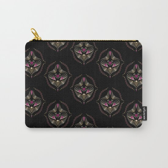 "Art deco print ""Jumil"" Carry-All Pouch"