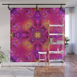 PEONY IN JUNE ABSTRACT Wall Mural