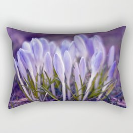 Ultra Violet Sound Rectangular Pillow