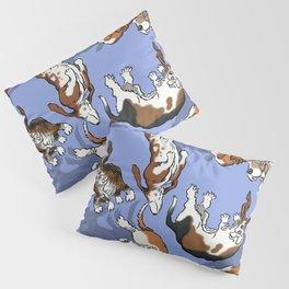 Raining Basset Hounds Pillow Sham
