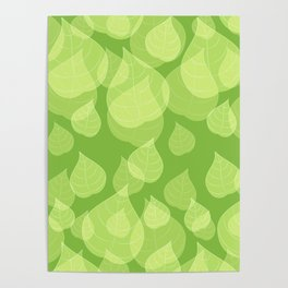Leaf Collection: Fresh Greens Poster