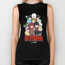 SYRIA - We're With You Biker Tank
