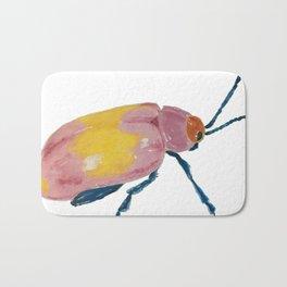 colorful beetle Bath Mat