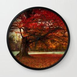 Finest fall Wall Clock