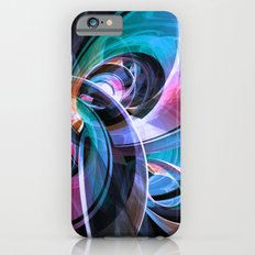 Abstract Reflecting Rings Slim Case iPhone 6s
