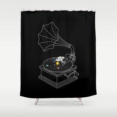 Star Track Shower Curtain