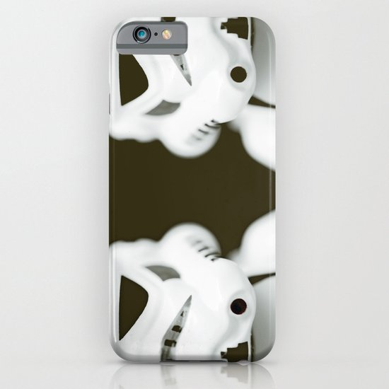 trooper portrait iPhone & iPod Case