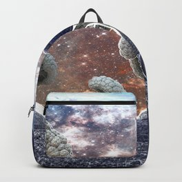 Broccoli Planet in Winter Backpack