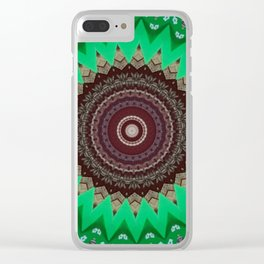 Some Other Mandala 103 Clear iPhone Case
