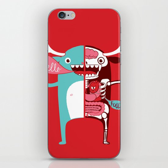 All monsters are the same! iPhone & iPod Skin
