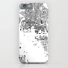 Washington Map Schwarzplan Only Buildings Slim Case iPhone 6s
