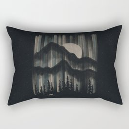 A Wolf in the Night... Rectangular Pillow