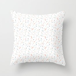 Forest Confetti Throw Pillow