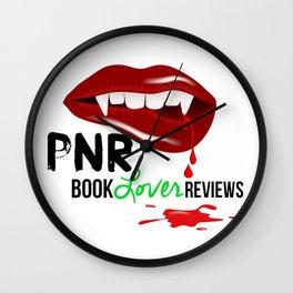 PNR Book Lover Reviews Tote Bags Wall Clock