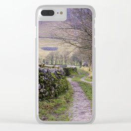 Yorkshire Dales Clear iPhone Case