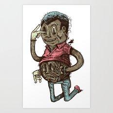 PINOCCULE COLOR Art Print