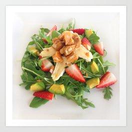Brittle Salad Art Print
