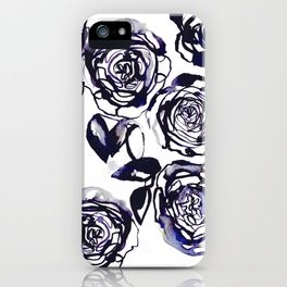 Inky Roses iPhone Case