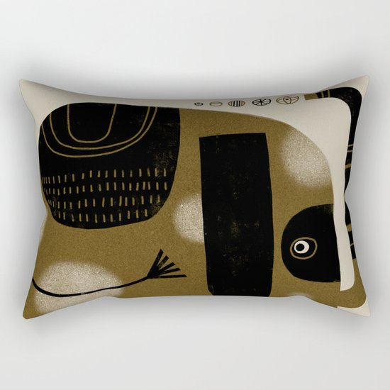 MASKED ELEPHANT Rectangular Pillow