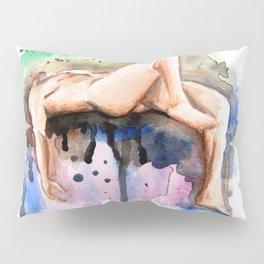 Flying Figure Pillow Sham