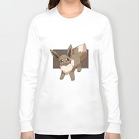 eevee Long Sleeve T-shirts featuring Eevee by Mirikun