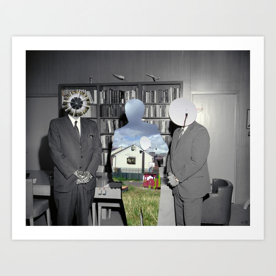 The Project 1 Collage Art Print