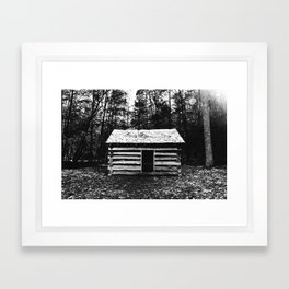 No Place Framed Art Print