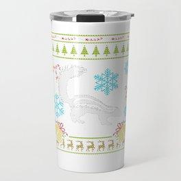 Pet Skunk Christmas Sweater Shirt Skunks As Pets Travel Mug