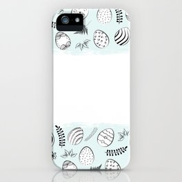 easter background iPhone Case
