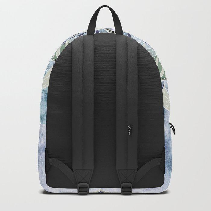 BLUE YERA MANDALA Backpack