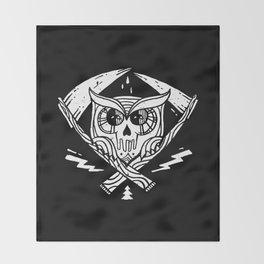 Death Watcher Throw Blanket