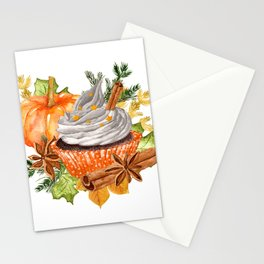 Everything Pumpkin Spice Stationery Cards