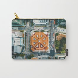 Aerial Cityscape View (Color) Carry-All Pouch
