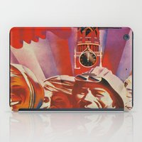 soviet iPad Cases featuring Labour communist propaganda in soviet union cccp sssr by Sofia Youshi