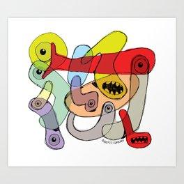 TINY CREATURES Art Print