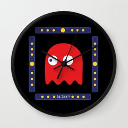 Blinky Just Arrived! Wall Clock