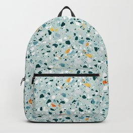 Mint Terrazzo #pattern #abstract Backpack