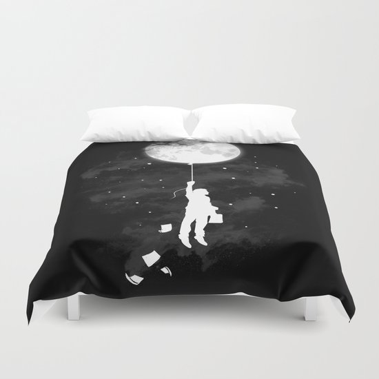 Midnight Traveler Duvet Cover