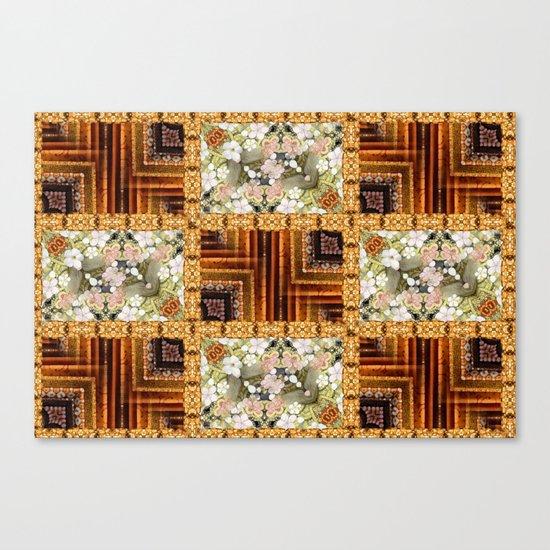 Oriental Quilt Canvas Print
