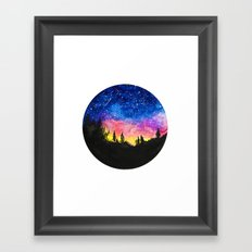 Aurora Borealis II Framed Art Print