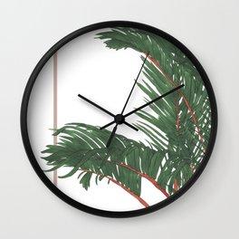 House Plants 2 Wall Clock