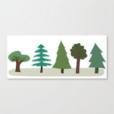 Tree Design Canvas Print
