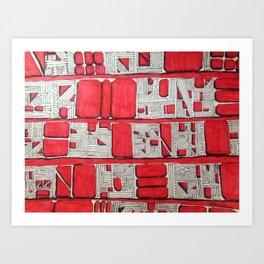 Love Bloodline Art Print