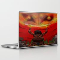 majora Laptop & iPad Skins featuring attack on majora! by fangterry