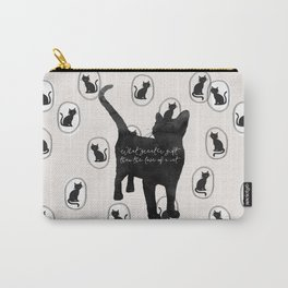 What Greater Gift Than The Love Of A Cat Carry-All Pouch