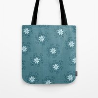 shiva Tote Bags featuring Shiva by Brains Are Pretty - Caroline Okun