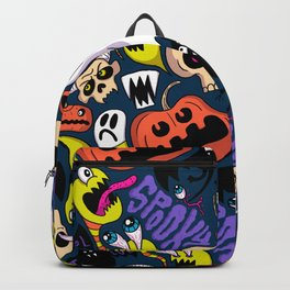 Spooky Pattern Backpack