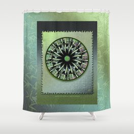 Bamboo Textures Shower Curtain