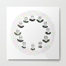 The Twelve Caesars Metal Print