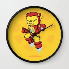 Iron Bear Wall Clock